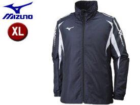 mizuno/ミズノ 32JE8015-14 MCB ウィンドブレーカーシャツ 【XL】 (ディープネイビー×ホワイト)