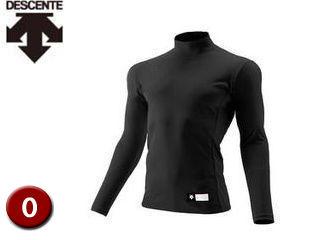 DESCENTE/デサント STD750-BLK ハイネック 長袖 リラックスFITシャツ 【O】 (ブラック)