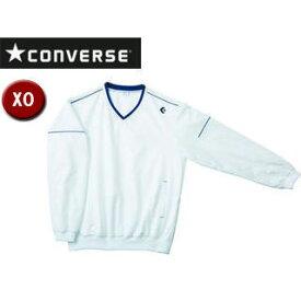 CONVERSE/コンバース CB162510S-1100 Vネックウォームアップジャケット 【XO】 (ホワイト)