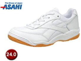 ASAHI/アサヒシューズ KD78641 グリッパ- 34 【24.0cm】 (ホワイト/ホワイト)