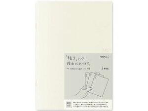 MIDORI/ミドリ MDノート ライト〈A5〉 横罫 3冊組 15213006