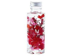 flower xmasgift 癒しのハーバリウム ルビーレッド