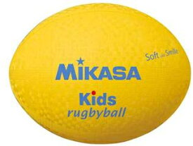 MIKASA/ミカサ ラグビー スマイルラグビー ラージサイズ イエロー KFY