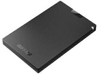 BUFFALO/バッファロー USB3.1(Gen1) ポータブルSSD 480GB ブラック SSD-PG480U3-BA