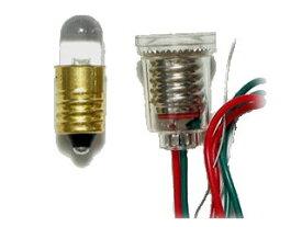 ・LED エレキット 超高輝度電球型LED(黄色・8mm・1.5V用) LK-8YE-1.5V ・1.5V ・電球型LED