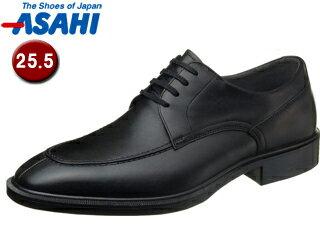 ASAHI/アサヒシューズ AM33081 TK33-08 通勤快足 メンズ・ビジネスシューズ 【25.5cm・3E】 (ブラック)