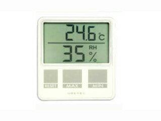 DRETEC/ドリテック 【大人気!】O-214-WT デジタル温湿度計(ホワイト)
