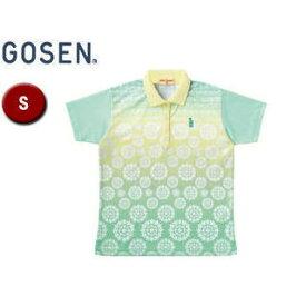 GOSEN/ゴーセン T1401 レディースゲームシャツ 【S】 (シャーベットグリーン)