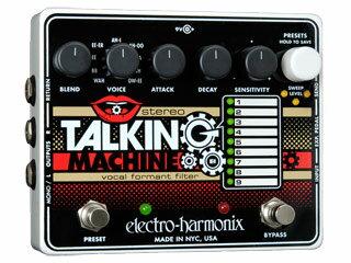 【nightsale】 【納期にお時間がかかります】 electro harmonix/エレクトロハーモニクス Stereo Talking Machine ボーカルフォルマントフィルター エフェクター 【国内正規品】