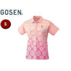 GOSEN/ゴーセン T1401 レディースゲームシャツ 【S】 (ピンク)