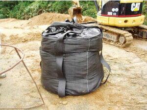 HAGIHARA/萩原工業 耐候性大型土のうブラック 100KT (1枚入) J-100KT