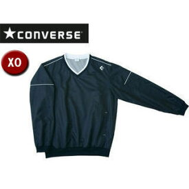 CONVERSE/コンバース CB162510S-1900 Vネックウォームアップジャケット 【XO】 (ブラック)