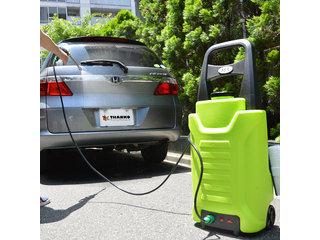 【駆動時間約30分!充電式だからどこでも使えちゃう!】タンク式充電どこでも高圧洗浄機ACTD2WS8