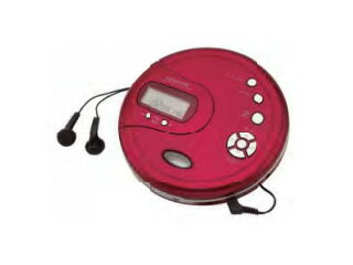 KOIZUMI/コイズミ SAD-3902-R(レッド) ポータブルCDプレーヤー