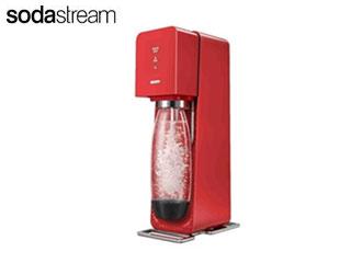 【nightsale】 sodastream/ソーダストリーム SSM1064 Sorce V3(ソース・ブイスリー) [スターターキット] (レッド) 【スタンダードモデル】 【炭酸水製造機】【炭酸水メーカー】【ソーダーメーカー】 【沖縄配送不可】
