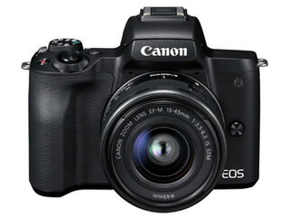 CANON/キヤノン EOS Kiss M EF-M15-45 IS STM レンズキット(ブラック) 2682C002