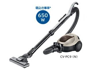 HITACHI/日立 パワーブラシ搭載紙パック式掃除機 CV-PC9-N(シャンパン)