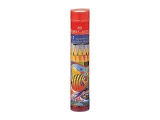 FABER-CASTELL/ファーバーカステル ファーバーカステル 水彩色鉛筆 丸缶 12色セット TFC-115912