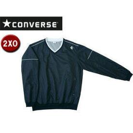 CONVERSE/コンバース CB162510S-1900 Vネックウォームアップジャケット 【2XO】 (ブラック)