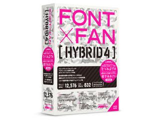 フォント・アライアンス・ネットワーク FONT x FAN HYBRID/フォントファン・ハイブリッド 4
