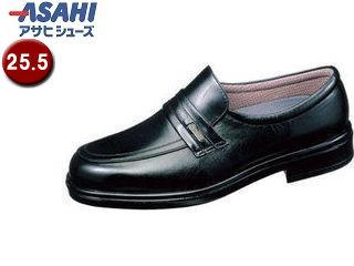 ASAHI/アサヒシューズ AM31261 TK31-26 通勤快足 メンズ・ビジネスシューズ【25.5cm・4E】 (ブラック)