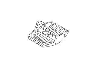 Panasonic/パナソニック ヘアーカッター用刈り高さアタッチメント(3/6mm) ERGF80W7397