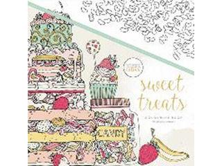 KAISERCRAFT/カイザークラフト 【KAISERCOLOUR】Sweet Treats(スウィートトリーツ) CL521 塗り絵 オーストラリア 大人 ペーパークラフト 大人の塗り絵