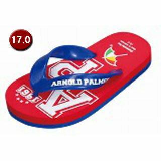 ARNORD PALMER/アーノルドパーマー AP3290-100 アーノルドパーマー キッズ ビーチサンダル 【17.0cm】 (レッド)