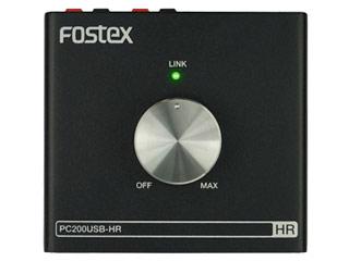FOSTEX/フォステクス 【納期4月中旬予定】PC200USB-HR ハイレゾ対応DAC内蔵パーソナル・アンプ 【HIGHRESO】【ハイレゾ音源対応】【RPS160328】