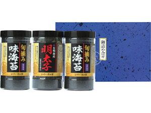 有明海産明太子風味&熊本有明海産旬摘み味海苔セット YO−15