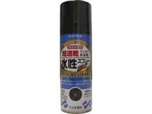 SUNDAY PAINT/サンデーペイント 水性ラッカースプレーMAX 400ml 黒 262229