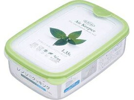 岩崎工業 保存容器 エアキーパー フードケース L グリーン