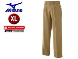 mizuno/ミズノ A2JF6501-49 ブレスサーモ ノンストレスパンツ メンズ 【XL】 (ベージュ)