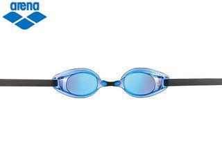 ARENA/アリーナ AGL220MPA くもり止めスイムグラス TOUGH STREAM ミラー加工 (ブルー×ブルー)