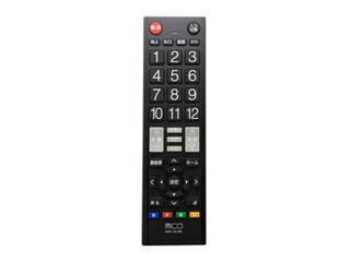 ミヨシ ミヨシ TV用簡単リモコン スタンダードタイプ 23社対応 MRC-02/BK