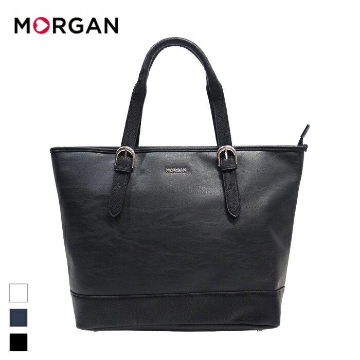 MORGAN/モルガン MOB04 メンズ トートバッグ (ブラック)
