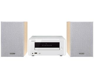 ONKYO/オンキヨー X-U6-W(ホワイト) CDレシーバーシステム