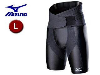 mizuno/ミズノ 【オススメ】52JJ5A90-09 バイオギア ゴルフ専用腰サポーター メンズ 【L】 (ブラック)