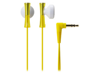 audio-technica/オーディオテクニカ ATH-J100 YL(イエロー) JUICY/ジューシー インナーイヤーヘッドホン