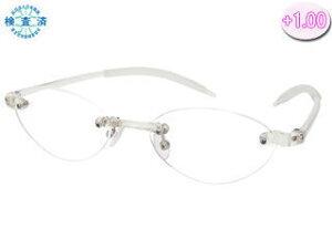 Senior Flex/シニアフレックス SF01-CL シニアフレックス 老眼鏡 (度数 +1.00) 【フレーム:クリア】 【敬老の日】【眼鏡】【メガネ】【女性】【男性】【おしゃれ】