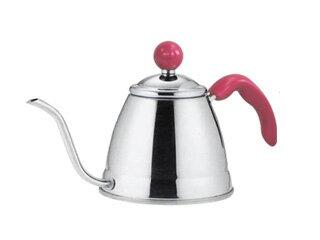 TAKEI/竹井器物製作所 OFF-105 フィーノ マーブルコーヒードリップポット (1.0L) ピンク 【coffepot】【コーヒーポット】【ケトル】