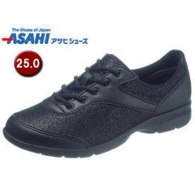 ASAHI/アサヒシューズ KS23563 快歩主義 L140AC アクティブシリーズ レディースシューズ 【25.0cm・3E】 (ブラック)