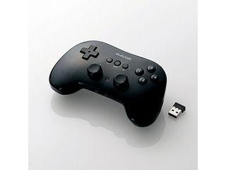 ELECOM/エレコム 無線ゲームパッド/12ボタン/連射/高耐久/ブラック JC-U3912TBK