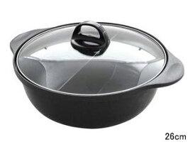 杉山金属 【納期3月末以降】火鍋風仕切り鍋 26cm KS−2926