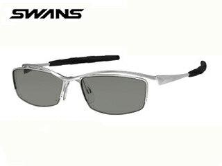 【nightsale】 SWANS/スワンズ 【度付ダイレクトレンズ対応】SWF-UP-P-0053 「スポーツ+度付き」SWF Series マットシルバー