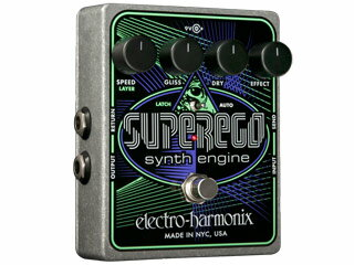 【nightsale】 【納期にお時間がかかります】 electro harmonix/エレクトロハーモニクス Superego シンセエンジン エフェクター 【国内正規品】