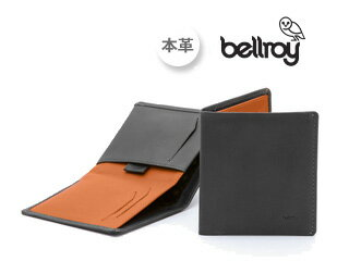 Bellroy/ベルロイ Note Sleeve/ノートスリーブウォレット CHA 【チャコール:CHARCOAL】 財布 スリム 二つ折り 名刺 カード 小銭 お札 プレゼント ギフト