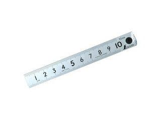 ピックアップスケールシルバー10cmcm表示上下段1mmピッチ13128