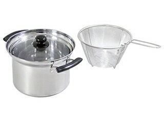 Horishin/ホリシン 便利でござる深型両手鍋20cm