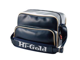 HI-GOLD/ハイゴールド HB-88 エナメルミニチュアショルダーバッグ 【7L】(ネイビー×シルバー/パールエナメル)